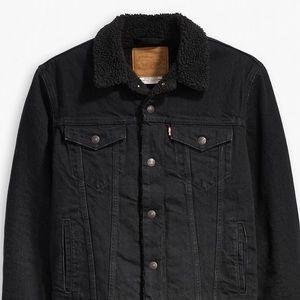 Extra small levis Sherpa jacket